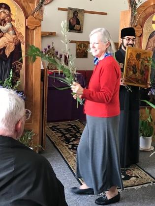 V. Rev. Father Catalin & Protessa Nicole